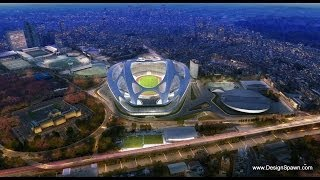 2020 National Olympic Stadium in Tokyo