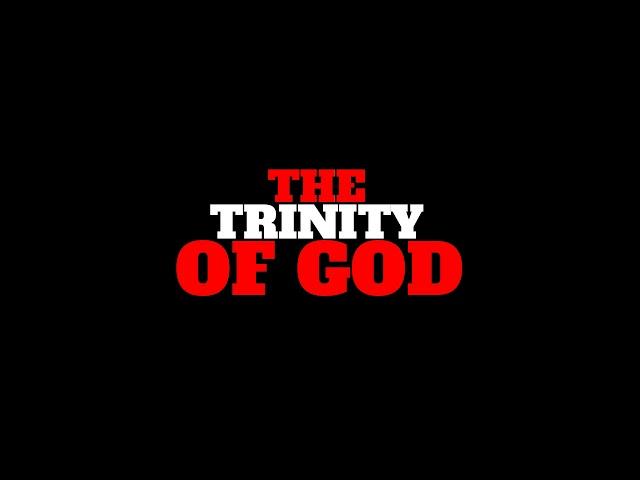 The Trinity  of God Dr. Myles Monroe