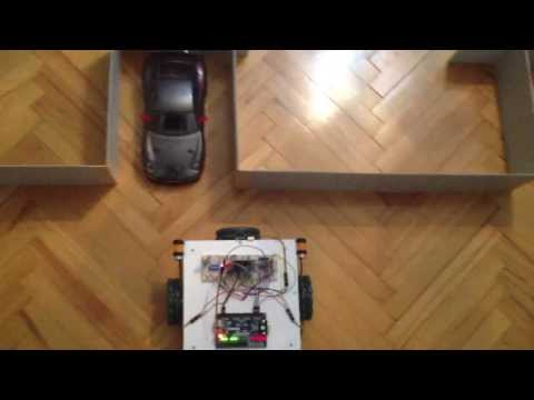 Self Parking Robot - Digital Project with Basys2 VHDL