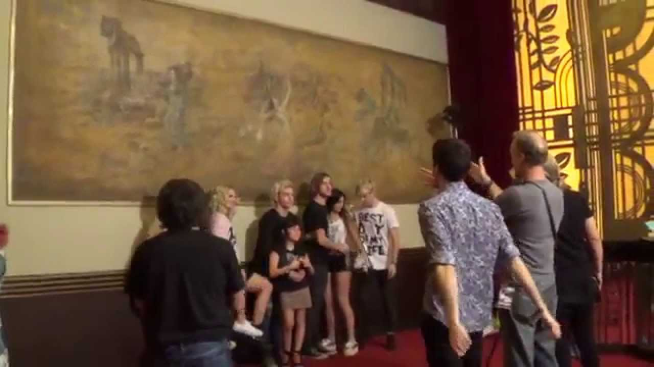 Meet and greet r5 in argentina 81014 youtube m4hsunfo
