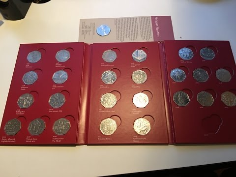 *RAREST* 50p's In Circulation - KEW GARDENS, WWF And More - UkCoinHUNT