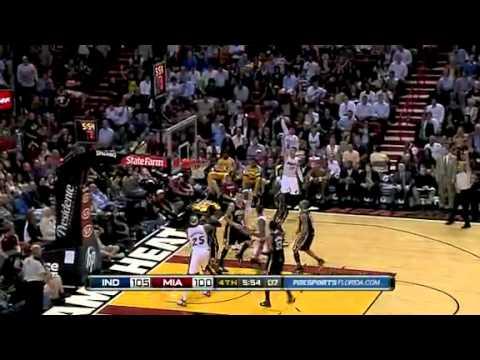 Miami Heat vs Indiana Pacers (117 - 112) February 8, 2011