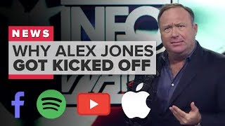 Why were Alex Jones and Infowars kicked off YouTube, Facebook, Apple and Spotify? (CNET News)