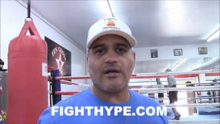 BRANDON RIOS AND TRAINER RICKY FUNEZ INSIST CAREER WILL BE RESURRECTED; TALK WORKING RELATIONSHIP