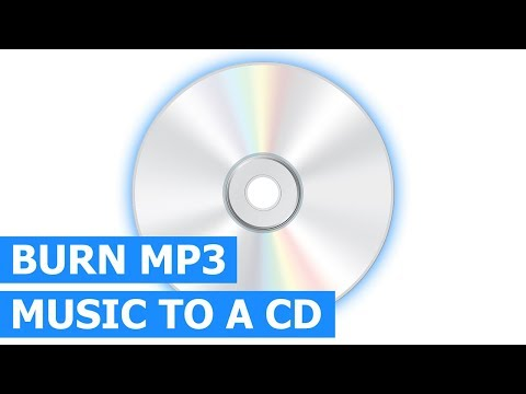 How to Burn MP3 to CD for any CD Player & Car Stereo using Windows Media Player