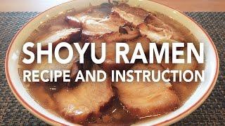 homemade ramen noodles