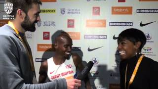 "Mo Farah: ""It feels great to be a world record holder!"""