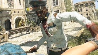 Dying Light Gold Weapons Rampage & Rooftop Parkour