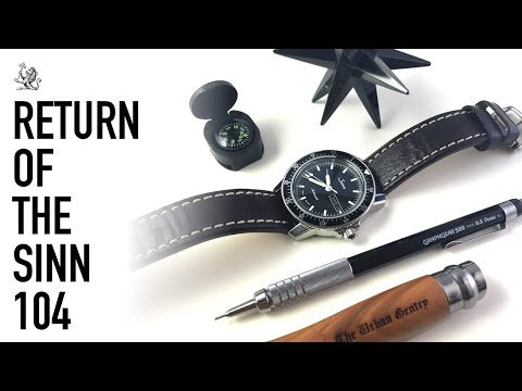 The Sinn 104 Pilot Watch (A Re-Review) -  Is It Still A Perfect Everyday Watch? + Breitling Unboxing