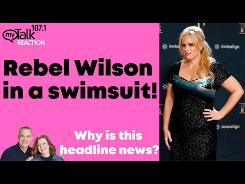 Rebel Wilson In A Swimsuit - Why Is This Headline News?