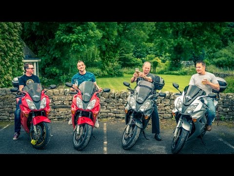 4 Honda VFR800's in the Yorkshire Dales   Part 1