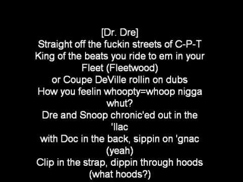 Dr. Dre - The Next Episode lyrics