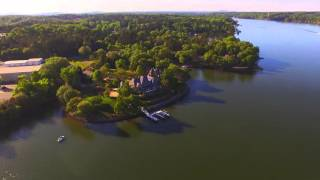 Lake Wylie Drone Flight from Copperhead Island