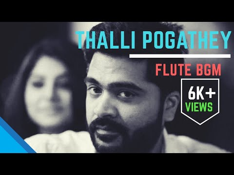 Thallipogathey Flute BGM | Simbu Dialogue | WhatsApp Status