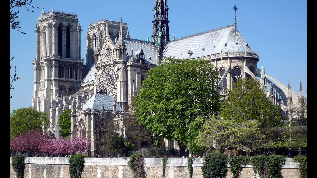 The Cathedral Of Notre Dame Paris Before The Fire Youtube
