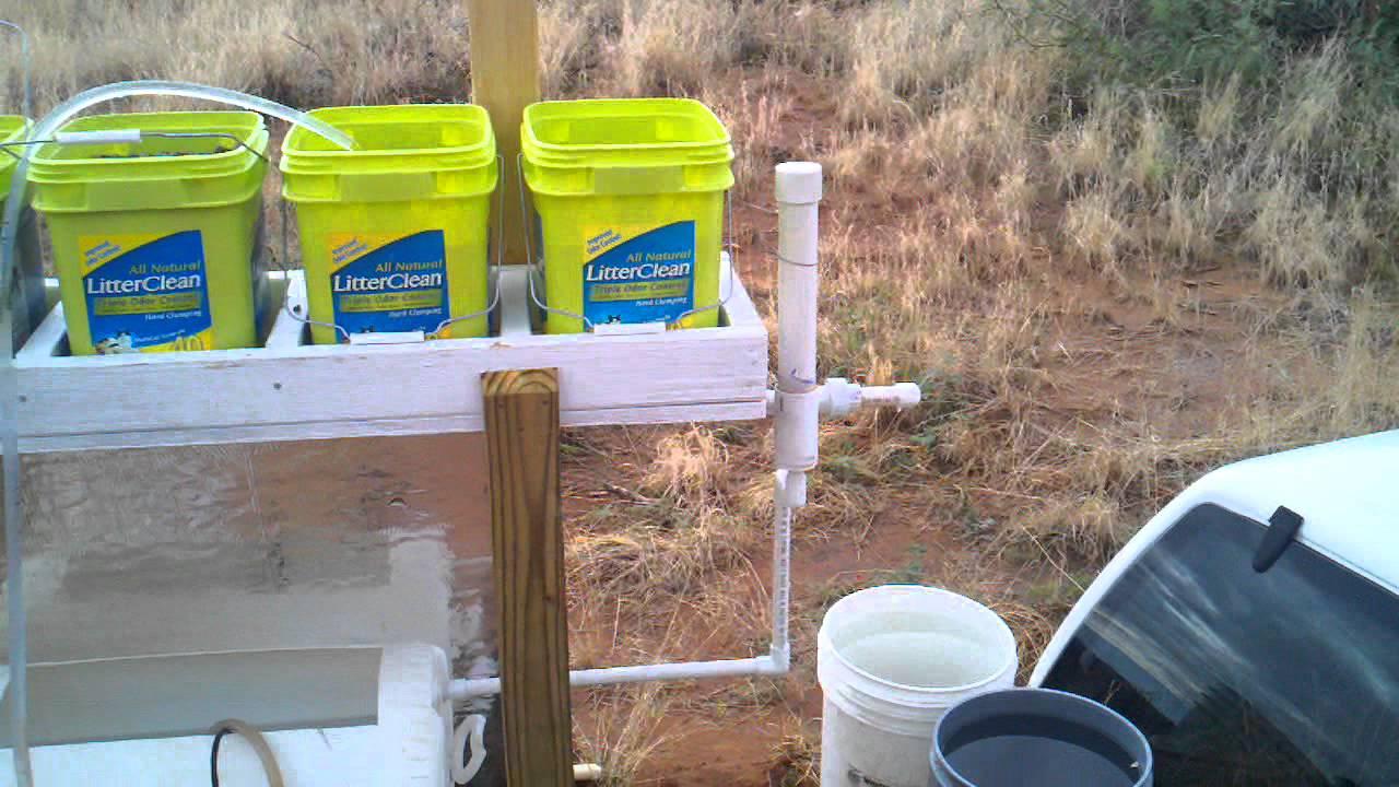 dutch bucket aquaponics [ 1280 x 720 Pixel ]