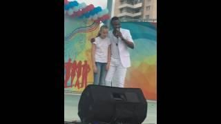День Молодежи в г Кириши - Чарли - Чарльз Анеле - Charles Anele - Певец - шоу-мен