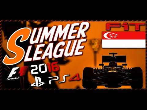 Summer League #02 GP Singapore F1 2016 06.06.17 - Live Streaming 1080p HD