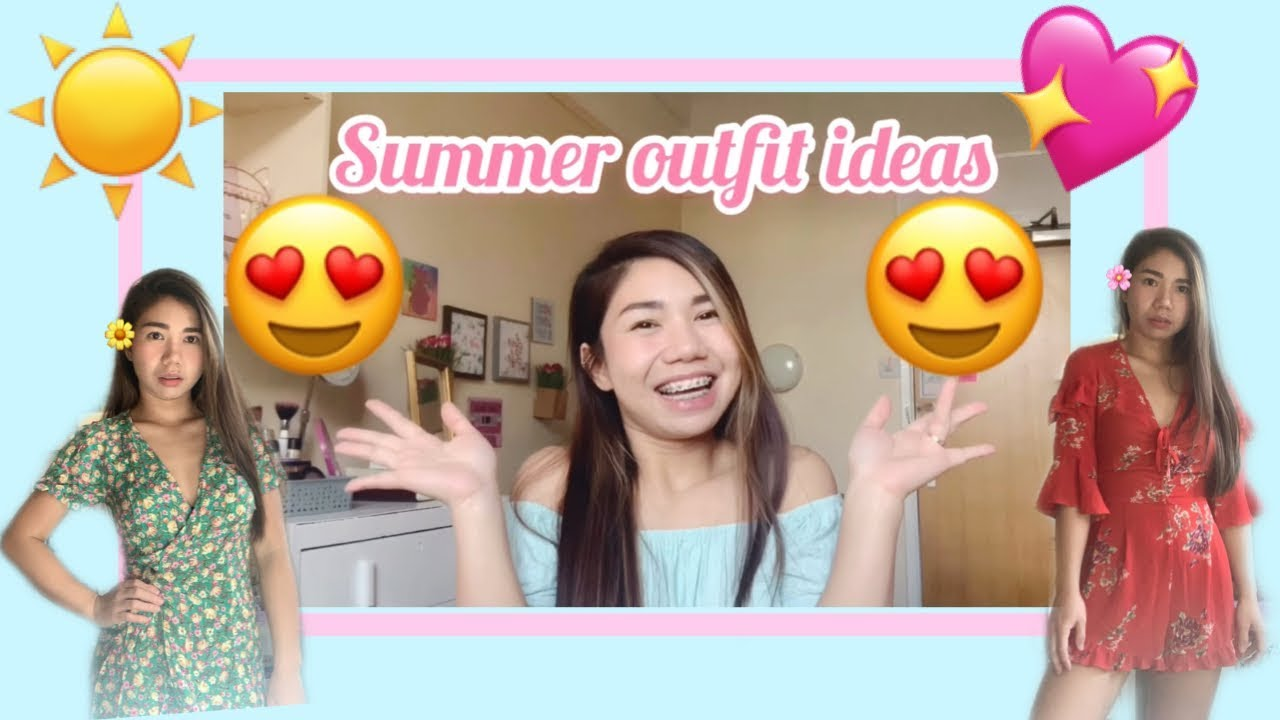 Simple Summer Outfit Ideas 2019☀️