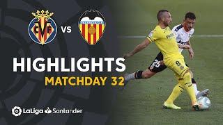 Highlights Villarreal CF vs Valencia CF (2-0)