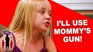 Girls Can't Stop Cursing | Supernanny