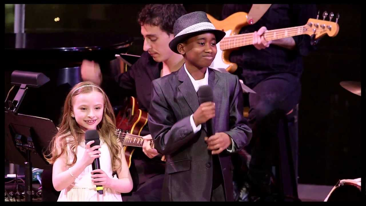 2013 Broadway.com Audience Choice Awards: Emily Rosenfeld and Raymond Luke Jr. Perform