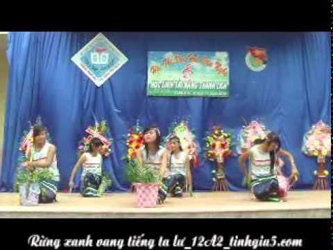 Rừng xanh vang tiếng Ta Lư_10A2_Chào mừng ngày 20/11/2010