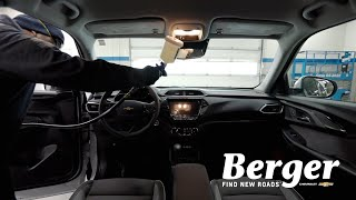 Disinfecting service // Berger Chevy
