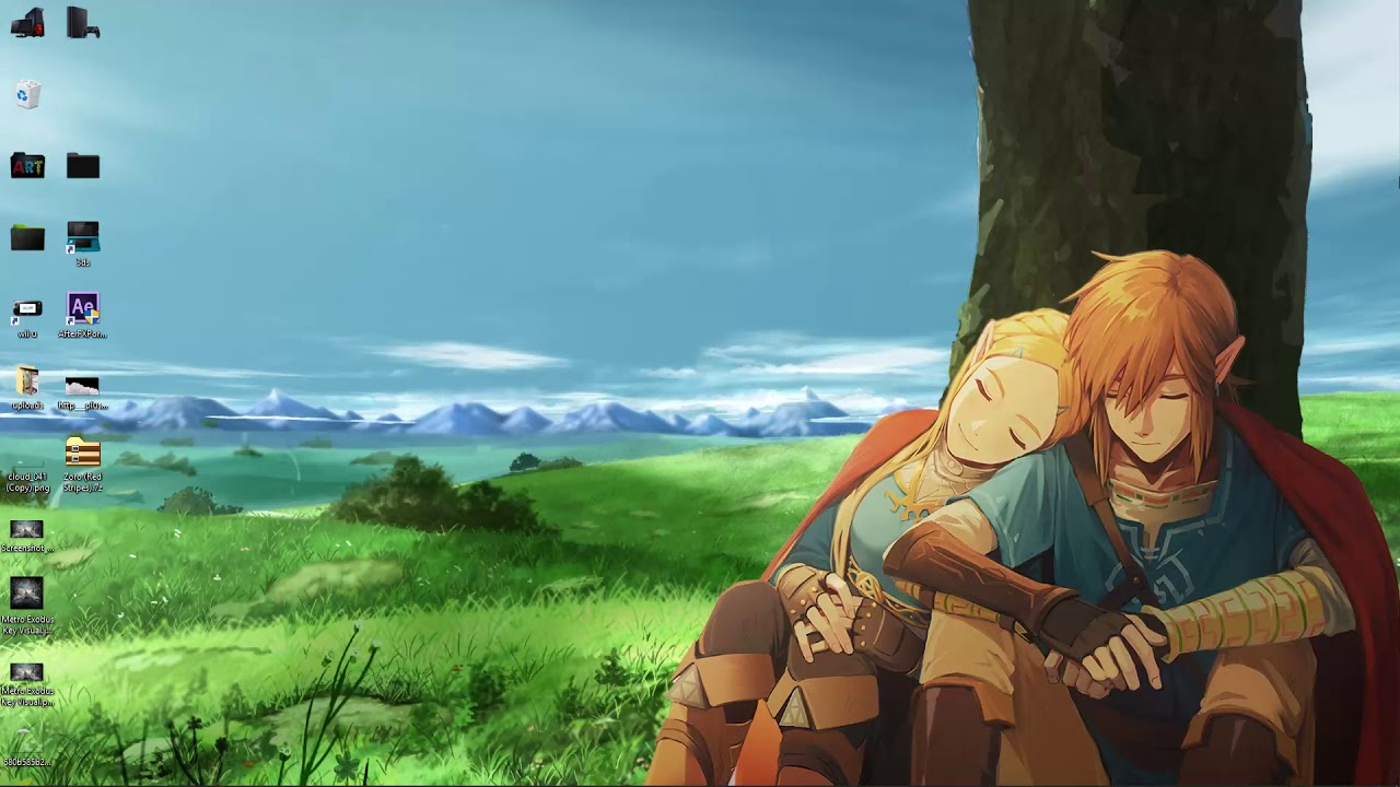 Wallpaper Engine Anime Link And Zelda Free Download Youtube