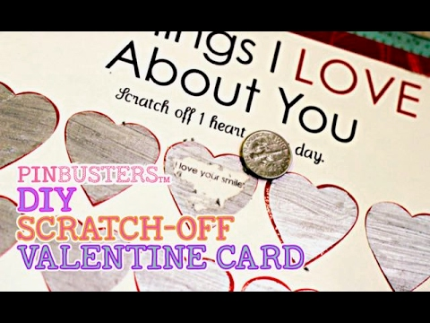 DIY Valentines Day Scratch Off Card  // DOES THIS REALLY WORK?