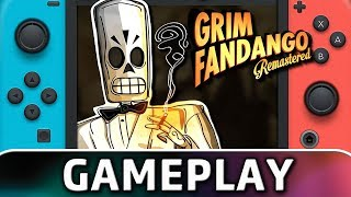 Grim Fandango Remastered | First 15 Minutes on Switch