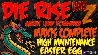 Die Rise: Maxis Easter Egg COMPLETED HIGH MAINTENANCE [FIRST VIDEO EVER!]