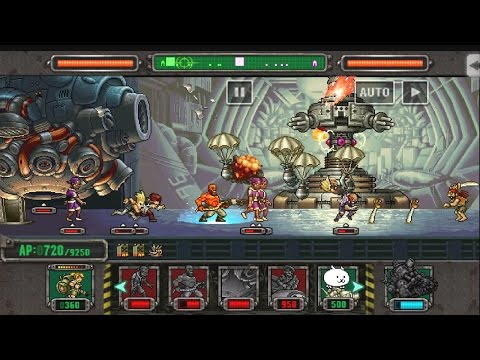[HD]Metal slug defense. SORTIE!  AMADEUS MOTHER BASE  !!! (1.43.0 ver) |