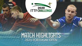 Саъди Исмаилов / Денис Ивонин vs Robin Devos/Ewout Oostwoder | Portugal Open 2020 (FS)