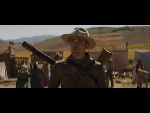 Damsel     Robert Pattinson and Mia Wasikowska