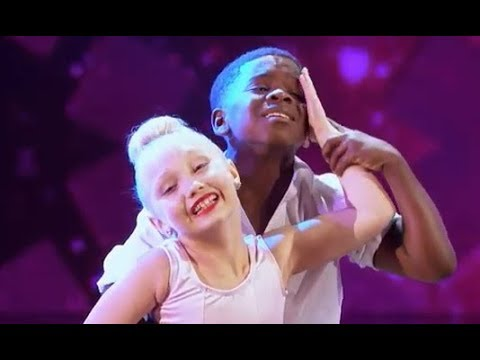 America's Got Talent | Artyon & Paige (Artyon Celestine & Paige Glenn) - Time of My Life | AGT 2017