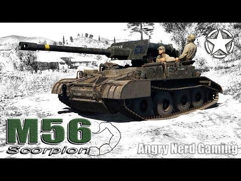 "War Thunder: M56 ""Scorpion"", American, Tier-4, Tank Destroyer"