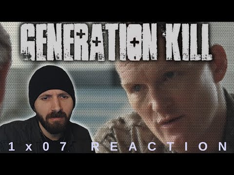 REACTION ► Generation Kill ► 1x07 - Bomb In The Garden