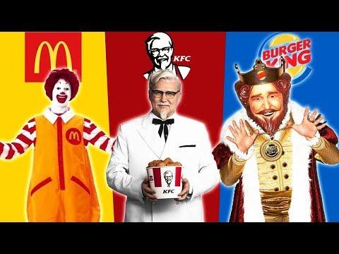 Mcdonalds vs KFC  vs Burger King | ROBLOX BKT - Ruslar.Biz