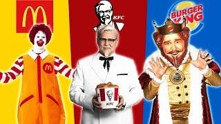 Mcdonalds vs KFC  vs Burger King | ROBLOX BKT
