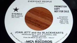 Joan Jett & The Blackhearts - Everyday People 45rpm