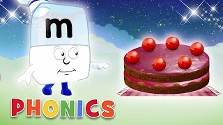 Phonics - Learn to Read   Tasty Treats!   Alphablocks thumbnail
