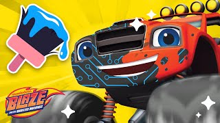 Makeover Machines #12 w/ Blaze +Recycling! | Games for Kids | Blaze and the Monster Machines