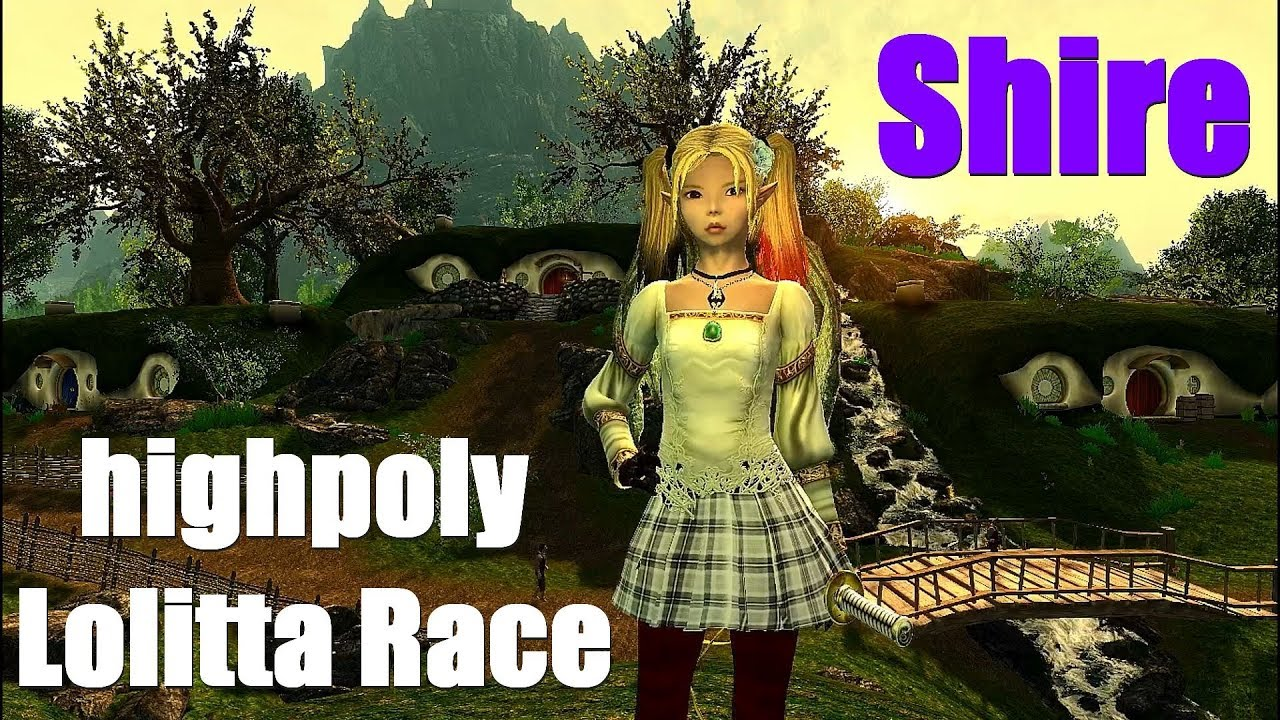 Skyrim Mods Mix: The Shire + highpoly Lolitta Race