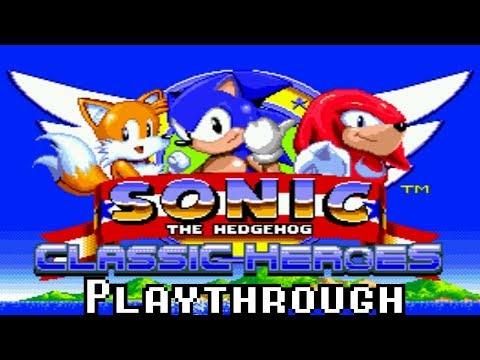 [TAS] Sonic Classic Heroes - Speedrun As Team Sonic