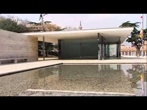 Architectures Le pavillon allemand de Barcelone