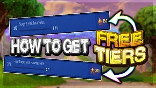 How To Get 35 TIERS in Fortnite for FREE! (BUG)