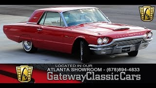 1964 Ford Thunderbird - Gateway Classic Cars of Atlanta #49