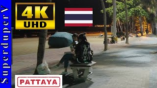 Beach Road Pattaya Night Walk Beautiful Girls Nightlife September 2021 Walk Tour 4K Pattaya Thailand