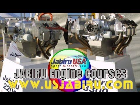 Jabiru 2300, Jabiru 3300 aircraft engine maintenance and service courses